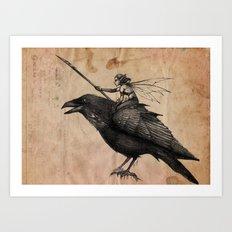 Fairy Scout Art Print