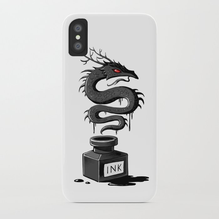 Ink Dragon iPhone Case