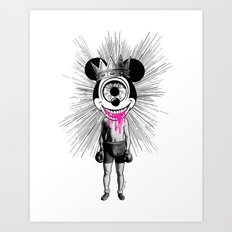 Fu…cked Up Celebrity Art Print