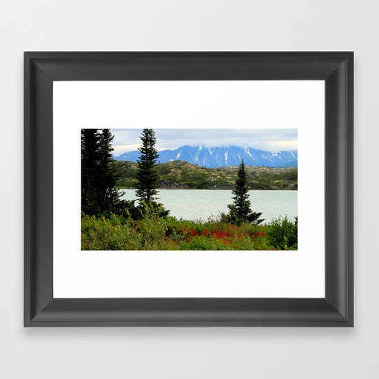 View of the Rockies Framed Art Print