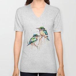 Kingfishers Unisex V-Neck