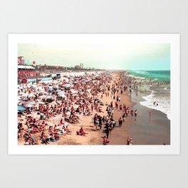 Huntington Beach, CA Art Print