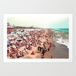 Huntington Beach, CA Art Print