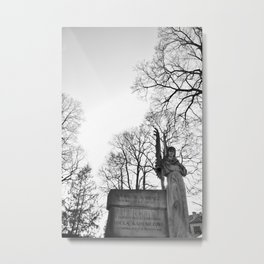 In the arms of the Angel Metal Print