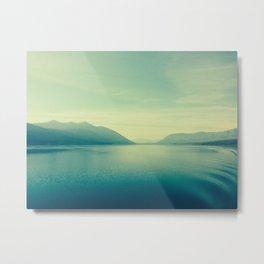 Montana: Lake MacDonald 3 Metal Print