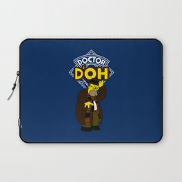 Doctor D'oh Laptop Sleeve