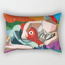 Remix of La Source by Pablo P Cubist Pop Art Rectangular Pillow