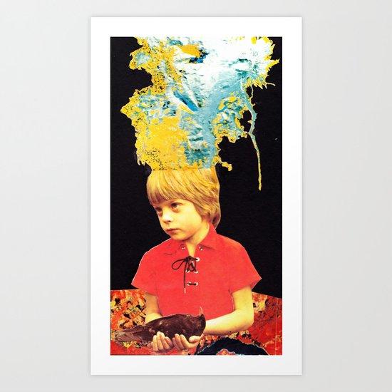 Pacifier Art Print