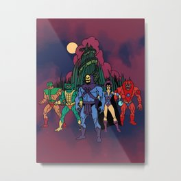 Team Snake Mountain Metal Print