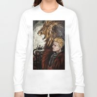 "dragon age inquisition Long Sleeve T-shirts featuring Dragon Age Inquisition - Cullen - Fortitude by Barbara ""Yuhime"" Wyrowińska"