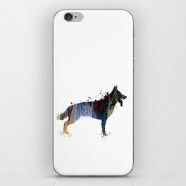 German shepherd iPhone Skin