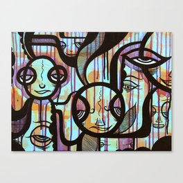 The Tribe Canvas Print