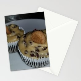 Chocolate chip cookie dough cupcakes Stationery Cards