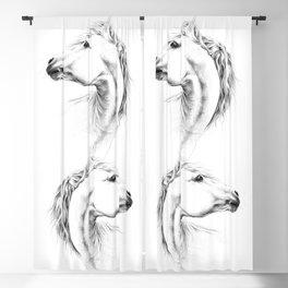 Horse Blackout Curtain