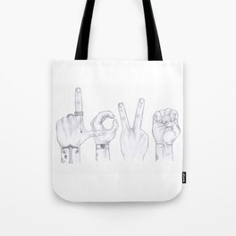 Love Wins. Always. (Larry Stylinson) Tote Bag