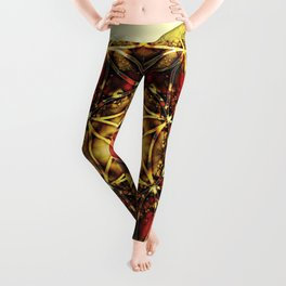Sacred Geometry Mandalas 4 Leggings