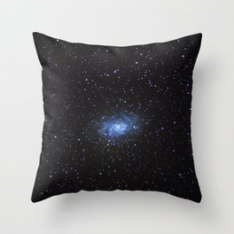 Triangulum Galaxy Throw Pillow