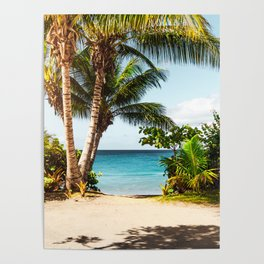 Ocean Travel Tropical Beach Poster