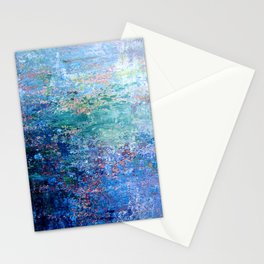 Blue Noise Stationery Cards