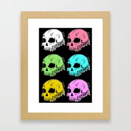 Dripping With Sarcasm Framed Art Print
