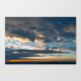 Vibrant Sunrise Cloudscape Canvas Print
