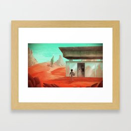 Martians Chronicles Framed Art Print