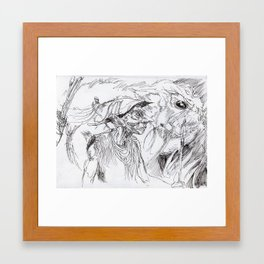 forest elve Framed Art Print