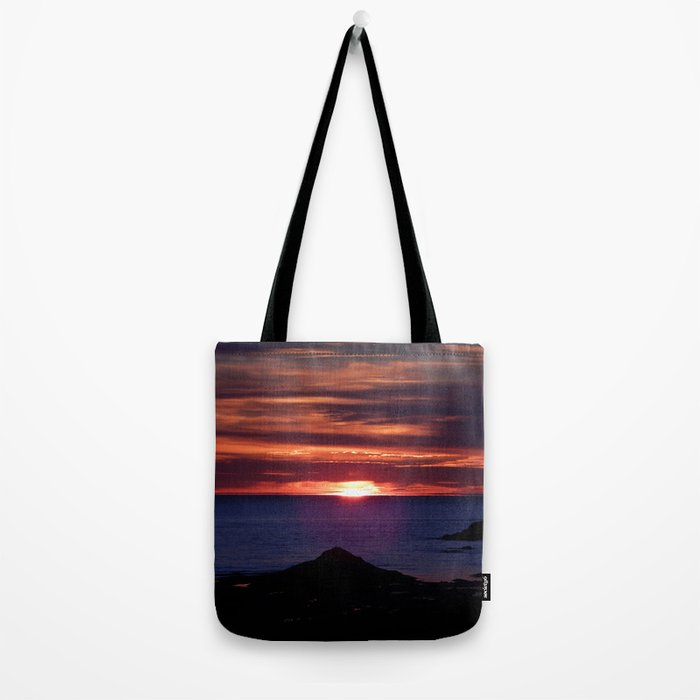 Dawn on the Sea Tote Bag