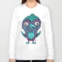 birdy Long Sleeve T-shirts featuring Birdy by Alex Chiu