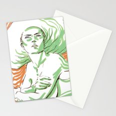 Summer Girl 3 Stationery Cards