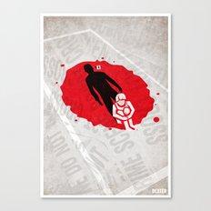 Dexter Poster Canvas Print