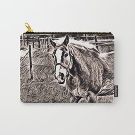 Rustic Style - Horse Carry-All Pouch