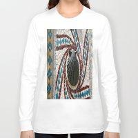 shell Long Sleeve T-shirts featuring Shell by Photaugraffiti