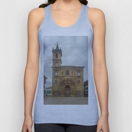 San Isidoro El Real Church, Oviedo Unisex Tank Top