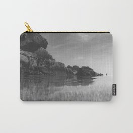 Reflective calm Carry-All Pouch