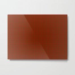 Crawford Tartan Metal Print