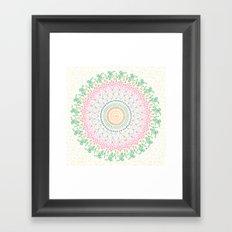 Plant Line Art 5 Framed Art Print