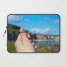 Claddagh Ring in Ireland Laptop Sleeve