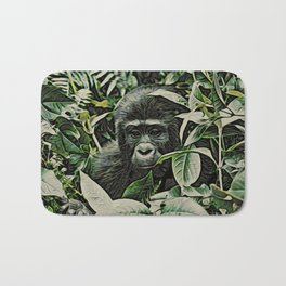 Animal ArtStudio 22516 Gorilla Baby Bath Mat