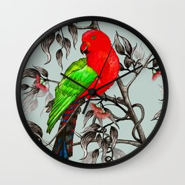 King Parrot 11 Wall Clock