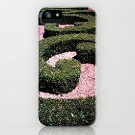 """Nel giardino dei pensieri (Paris) """"GEOROMANTIC"""" series iPhone Case"""