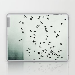 Fog and Feathers Laptop & iPad Skin