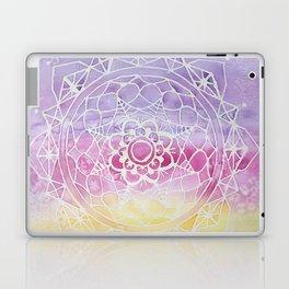 Rainbow Watercolor Mandala Laptop & iPad Skin