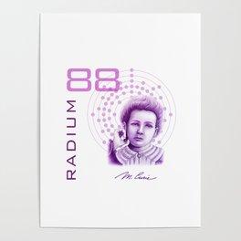 Marie Curie, Breaker of Gender Stereotype in Science Poster