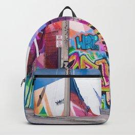 Tattooed Walls form Wynwood Miami Grafitti 3 Backpack