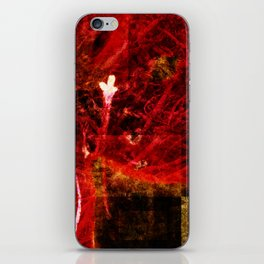 Astral flower iPhone Skin