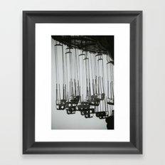 Abandoned Funfair Framed Art Print