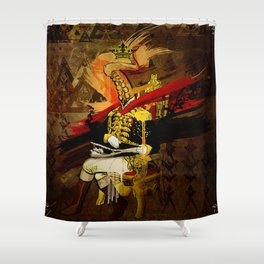 The Commodore Shower Curtain
