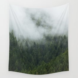 Tree Fog Wall Tapestry