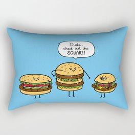 Burger Bullies Rectangular Pillow